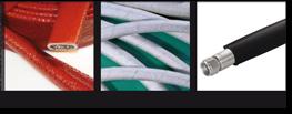 Flexible stainless steel hoses Coatings