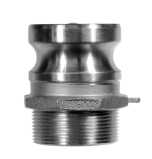 Hose fittings Type F