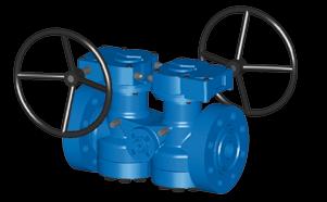 Nordstrom Valves: Nordstrom Double DB Steel Plug Valves