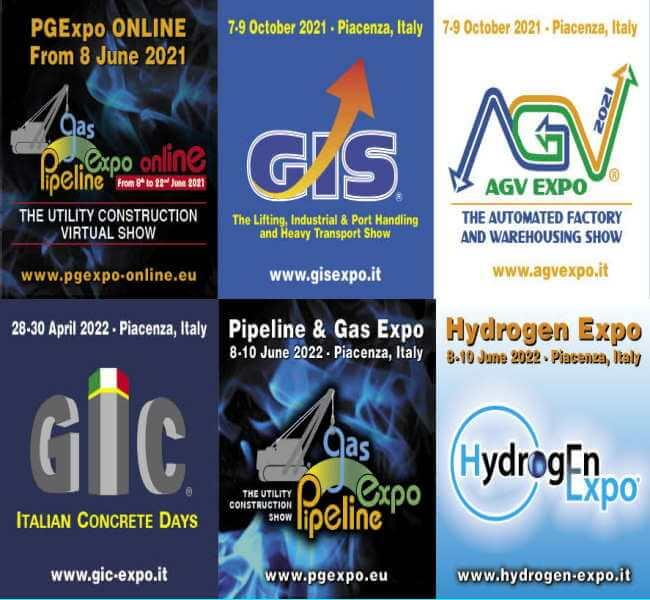 PGE 2021 PIpeline Gas Expo Online con Audco dal 8 al 22 Giugno 2021 Piacenza - Vieni a trovarci!
